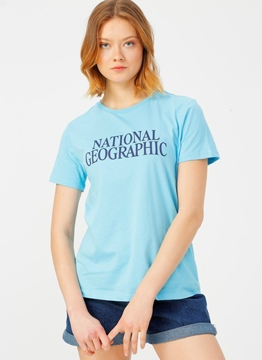 National Geographic National Geographic Mavi T-Shirt Mavi